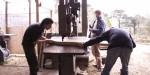 cutting oak frames